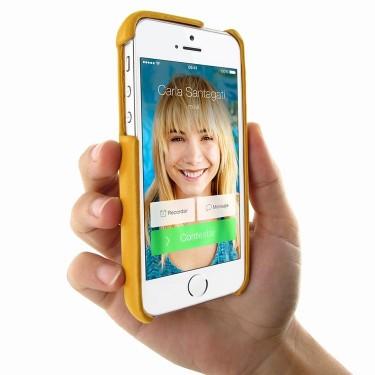 Piel Frama Ledertasche FramaGrip für Apple iPhone 5/5S