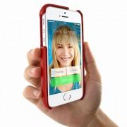 Ledertasche FramaGrip für Apple iPhone 5/5S